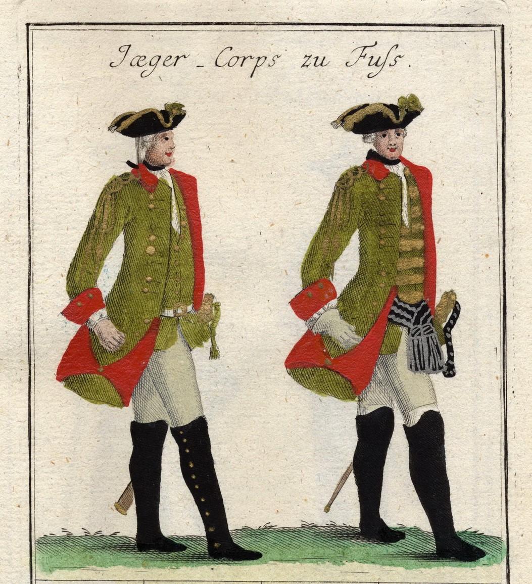 Jägercorps zu Fuss 1759